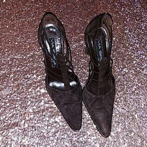 Brown suede Via Spiga shoes